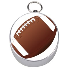 Football American Sport Ball Silver Compasses by Alisyart