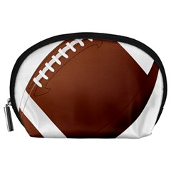 Football American Sport Ball Accessory Pouches (large)  by Alisyart