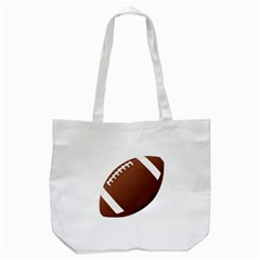 Football American Sport Ball Tote Bag (white) by Alisyart