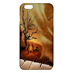 Digital Art Nature Spider Witch Spiderwebs Bricks Window Trees Fire Boiler Cliff Rock Iphone 6 Plus/6s Plus Tpu Case by Simbadda