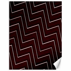 Lines Pattern Square Blocky Canvas 12  X 16   by Simbadda