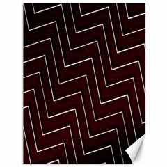 Lines Pattern Square Blocky Canvas 36  X 48   by Simbadda