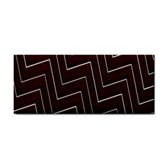 Lines Pattern Square Blocky Cosmetic Storage Cases by Simbadda