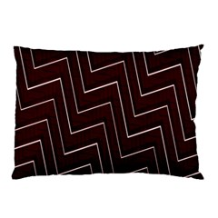 Lines Pattern Square Blocky Pillow Case by Simbadda