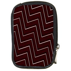 Lines Pattern Square Blocky Compact Camera Cases by Simbadda