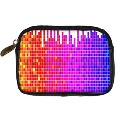 Square Spectrum Abstract Digital Camera Cases by Simbadda
