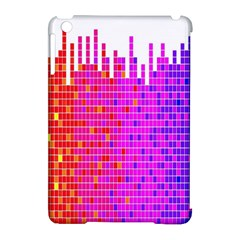 Square Spectrum Abstract Apple Ipad Mini Hardshell Case (compatible With Smart Cover)
