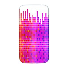 Square Spectrum Abstract Samsung Galaxy S4 I9500/i9505  Hardshell Back Case by Simbadda