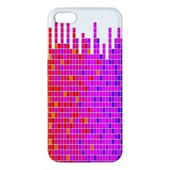 Square Spectrum Abstract Iphone 5s/ Se Premium Hardshell Case by Simbadda