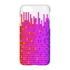 Square Spectrum Abstract Apple Iphone 7 Hardshell Case