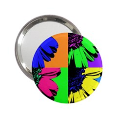 Flower Pop Sunflower 2 25  Handbag Mirrors by Alisyart