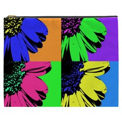 Flower Pop Sunflower Cosmetic Bag (xxxl)