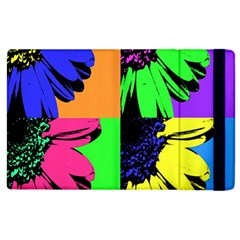Flower Pop Sunflower Apple Ipad 2 Flip Case