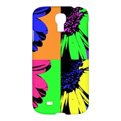 Flower Pop Sunflower Samsung Galaxy S4 I9500/i9505 Hardshell Case by Alisyart