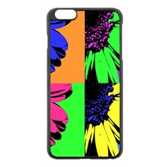 Flower Pop Sunflower Apple Iphone 6 Plus/6s Plus Black Enamel Case by Alisyart