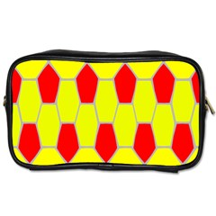 Football Blender Image Map Red Yellow Sport Toiletries Bags by Alisyart