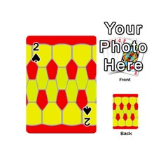 Football Blender Image Map Red Yellow Sport Playing Cards 54 (mini)  by Alisyart