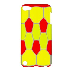Football Blender Image Map Red Yellow Sport Apple Ipod Touch 5 Hardshell Case
