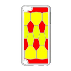 Football Blender Image Map Red Yellow Sport Apple Ipod Touch 5 Case (white)