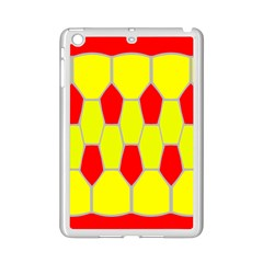 Football Blender Image Map Red Yellow Sport Ipad Mini 2 Enamel Coated Cases