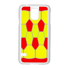 Football Blender Image Map Red Yellow Sport Samsung Galaxy S5 Case (white)