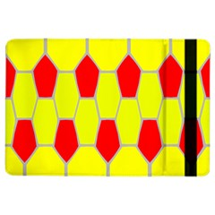 Football Blender Image Map Red Yellow Sport Ipad Air 2 Flip