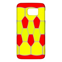 Football Blender Image Map Red Yellow Sport Galaxy S6 by Alisyart