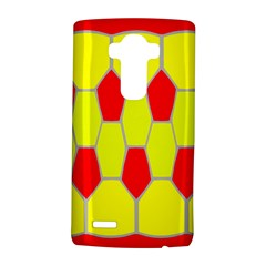 Football Blender Image Map Red Yellow Sport Lg G4 Hardshell Case