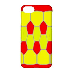 Football Blender Image Map Red Yellow Sport Apple Iphone 7 Hardshell Case by Alisyart