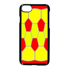 Football Blender Image Map Red Yellow Sport Apple Iphone 7 Seamless Case (black)