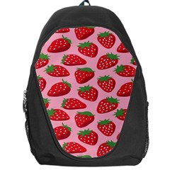 Fruit Strawbery Red Sweet Fres Backpack Bag by Alisyart