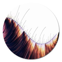 Abstract Lines Magnet 5  (round) by Simbadda