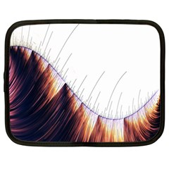 Abstract Lines Netbook Case (xxl)  by Simbadda