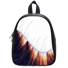 Abstract Lines School Bags (small)  by Simbadda