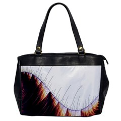 Abstract Lines Office Handbags