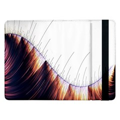 Abstract Lines Samsung Galaxy Tab Pro 12 2  Flip Case