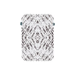Pattern Monochrome Terrazzo Apple Ipad Mini Protective Soft Cases by Simbadda