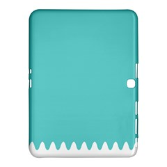 Grey Wave Water Waves Blue White Samsung Galaxy Tab 4 (10 1 ) Hardshell Case
