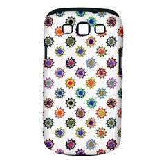 Flowers Color Artwork Vintage Modern Star Lotus Sunflower Floral Rainbow Samsung Galaxy S Iii Classic Hardshell Case (pc+silicone) by Alisyart