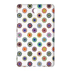 Flowers Color Artwork Vintage Modern Star Lotus Sunflower Floral Rainbow Samsung Galaxy Tab S (8 4 ) Hardshell Case