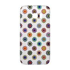 Flowers Color Artwork Vintage Modern Star Lotus Sunflower Floral Rainbow Galaxy S6 Edge by Alisyart