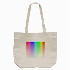 Layer Light Rays Rainbow Pink Purple Green Blue Tote Bag (cream) by Alisyart