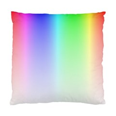 Layer Light Rays Rainbow Pink Purple Green Blue Standard Cushion Case (one Side)