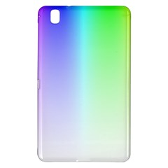 Layer Light Rays Rainbow Pink Purple Green Blue Samsung Galaxy Tab Pro 8 4 Hardshell Case by Alisyart