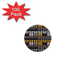 Football Uniforms Team Clup Sport 1  Mini Buttons (100 Pack)  by Alisyart