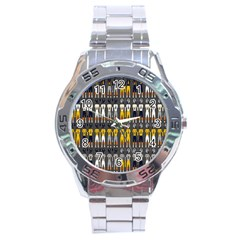 Football Uniforms Team Clup Sport Stainless Steel Analogue Watch by Alisyart