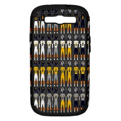 Football Uniforms Team Clup Sport Samsung Galaxy S Iii Hardshell Case (pc+silicone) by Alisyart