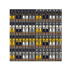 Football Uniforms Team Clup Sport Small Satin Scarf (square)