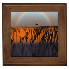 Rainbows Landscape Nature Framed Tiles by Simbadda