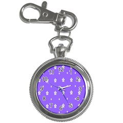Light Purple Flowers Background Images Key Chain Watches by Alisyart